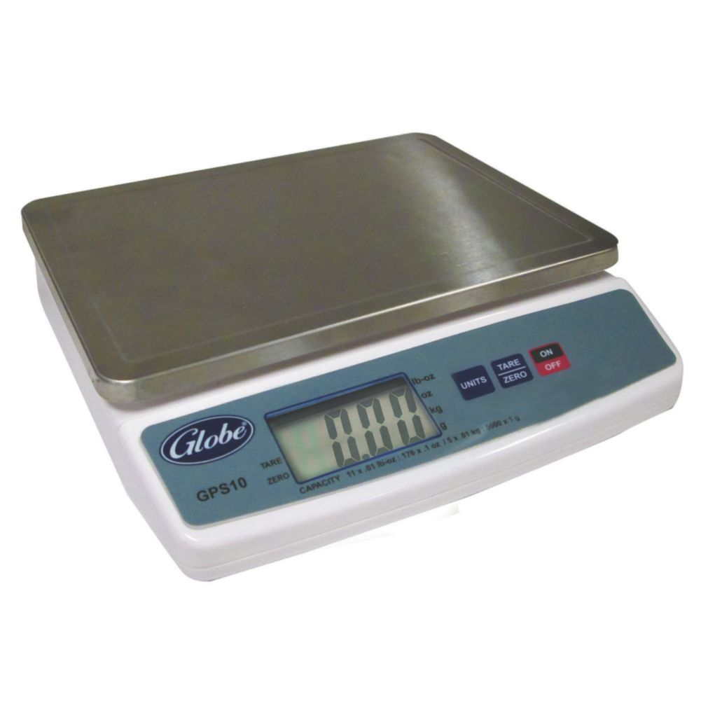 Globe Food GPS10 Digital 10 Lb. Portion Control Scale