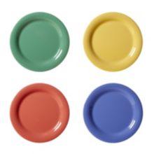 "G.E.T. NP-6-MIX Diamond Mardi Gras Mixed Colors 6-1/2"" Plate - 48 / CS"