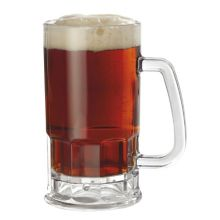 G.E.T. 00085-PC-CL Clear 20 Oz. Beer Mug with Handle - Dozen