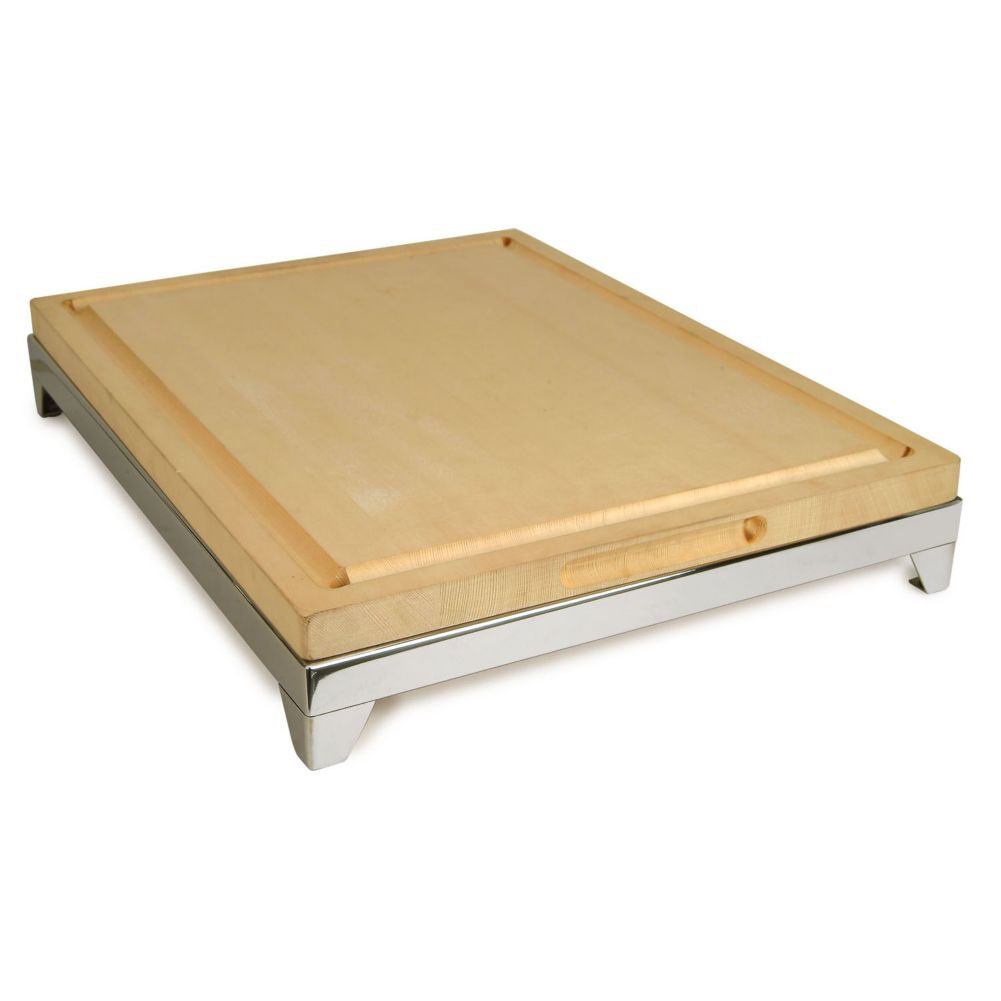 Eastern Tabletop 9653 Butcher Block Carving Board with Frame