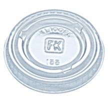 Fabri-Kal® 9505082 Clear Plastic Portion Cup Lid - 2500 / CS