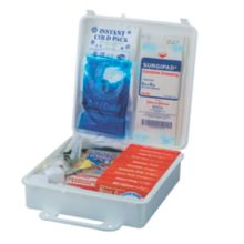 Service Ideas™ 1124SI 173-Piece First Aid Kit