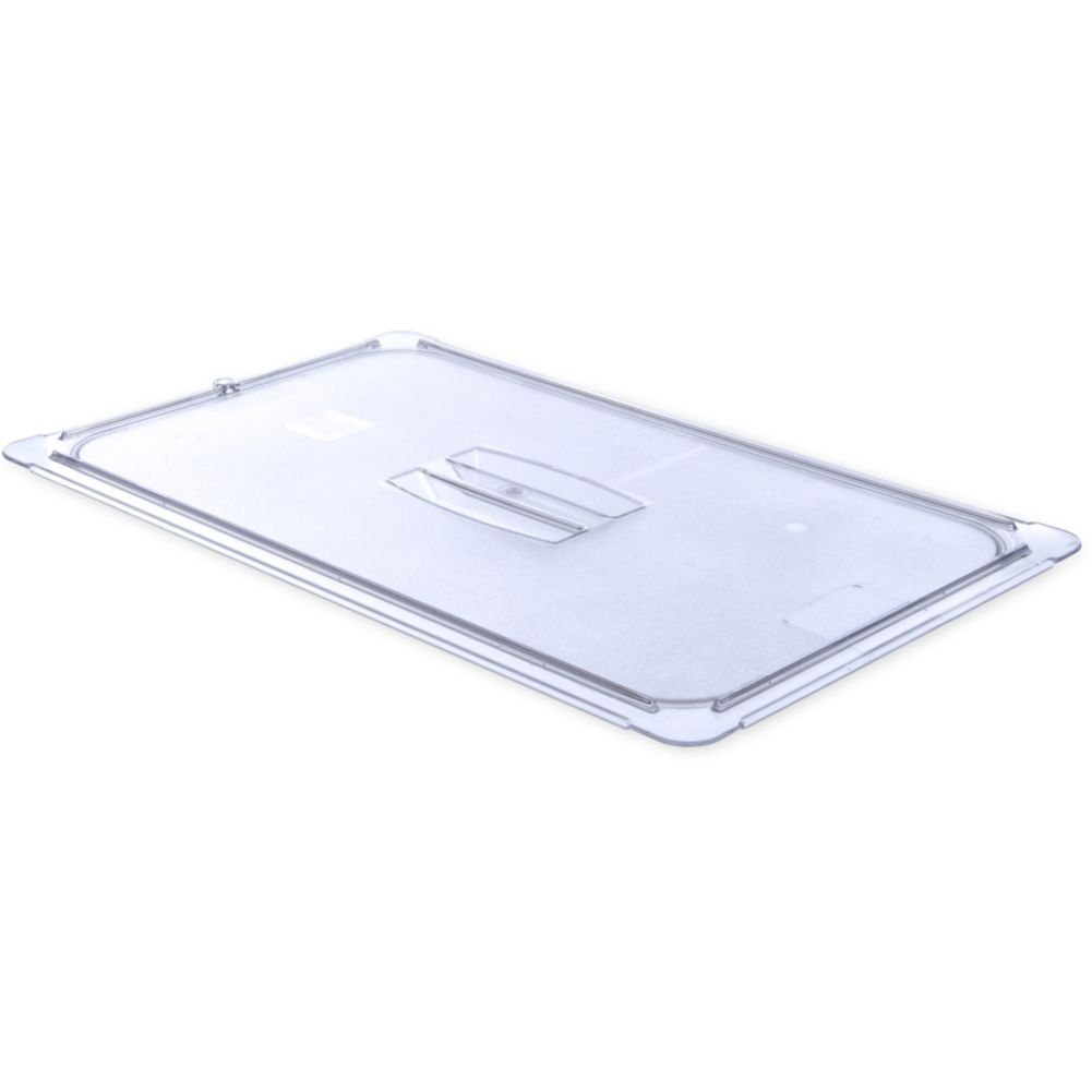 Carlisle® 10210U07 StorPlus Clear Full-Size Handled Food Pan Lid