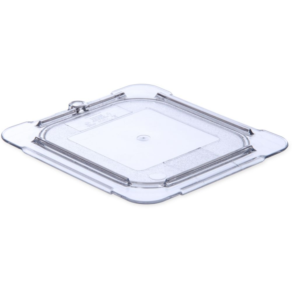 Carlisle® 10316U07 StorPlus™ Clear 1/6-Size Food Pan Lid
