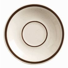 "World® Tableware DSD-2 Desert Sand 6"" Saucer - 36 / CS"