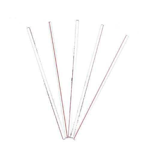 "Cell-O-Core BS5WR BAR-PAK 5-1/4"" Coffee Stirrers - 10000 / CS"