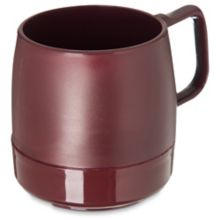 Dinex DX119761 Classic Cranberry 8 Oz. Insulated Mug - 48 / CS