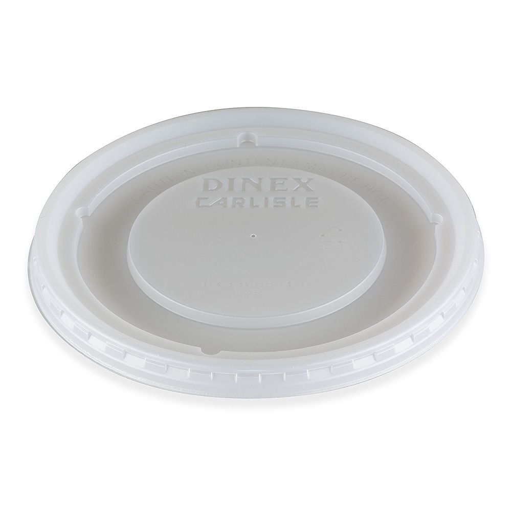 Dinex DX33008714 Turnbury Translucent Lid for DX3300 - 1000 / CS