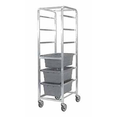 "Kelmax 4H0694 Aluminum 6-Shelf 19 x 27 x 69"" H Meat Lug Cart"