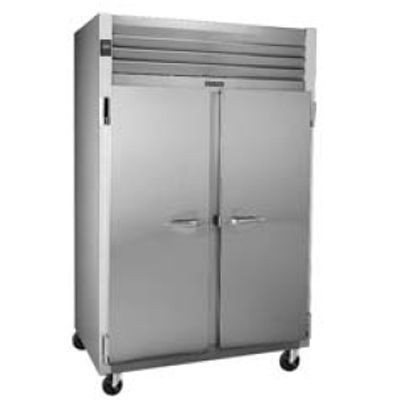 Traulsen G22010 G-Series Solid Door 2-Section Reach-In Freezer