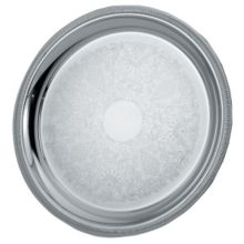 "Vollrath 82102 Elegant Reflections 18-5/8"" Round S/S Serving Tray"
