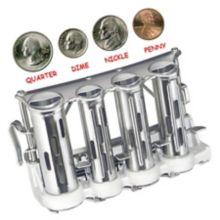 Advantus MCG1 Steel 4-Barrel Belt Coin Changer