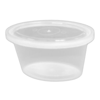 Pactiv YE502 Ellipso™ 2 Oz Clear Portion Cup - 1000 / CS