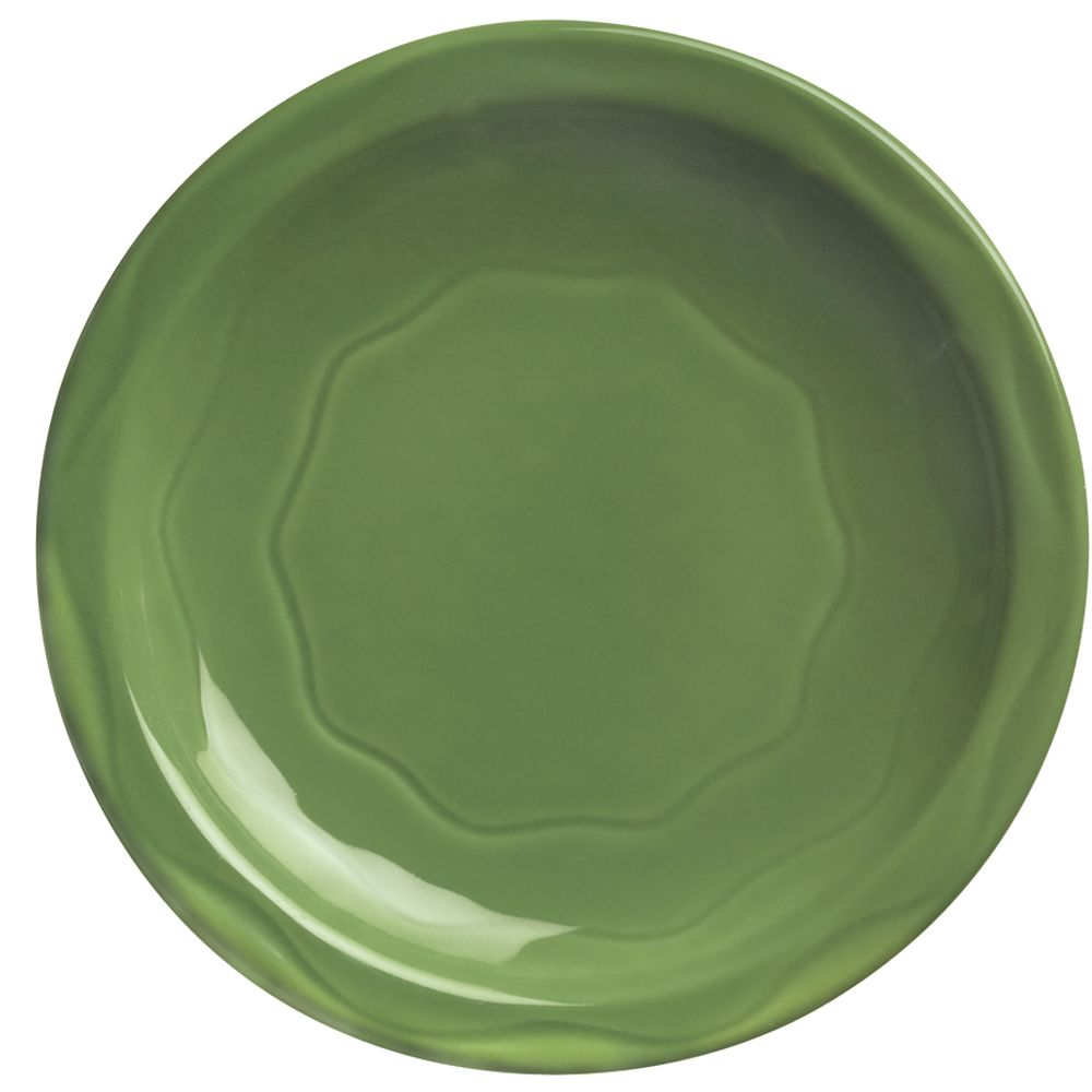 "Syracuse China 903035002 Cantina® Sage 11.38"" Plate - 12 / CS"