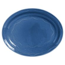 "Syracuse China 903032001 Cantina Blueberry 14"" Platter - 6 / CS"
