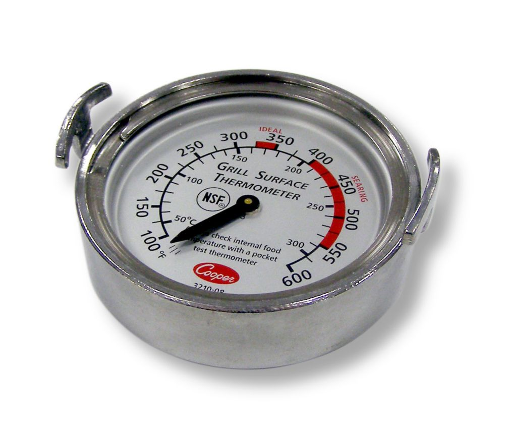 Cooper-Atkins® 3210-08-1-E Grill Thermometer