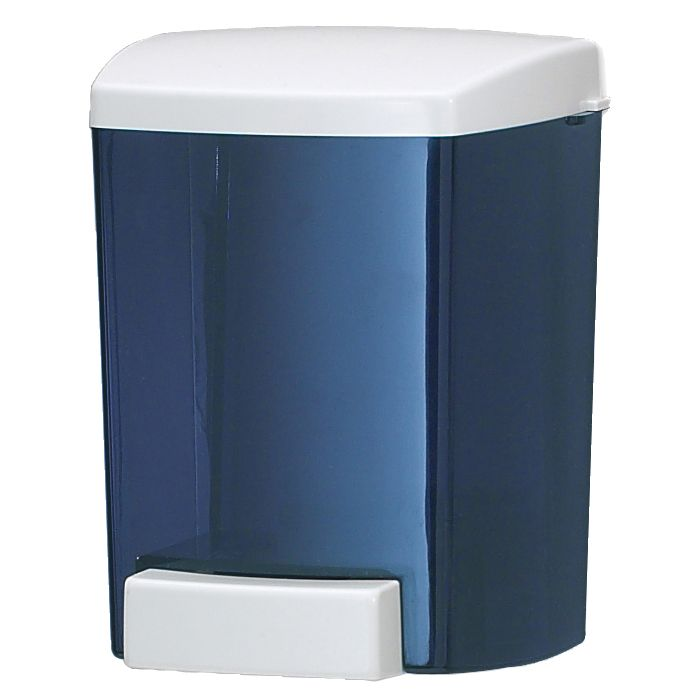 San Jamar® S30TBL Arctic Blue 30 Ounce Classic Soap Dispenser