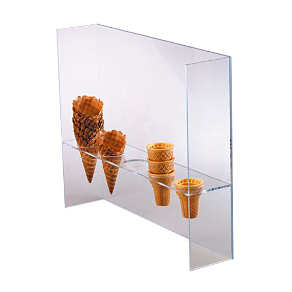 Dispense-Rite 5-Section Cone Stand with Shield