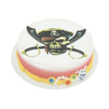 Lucks™ 42935 Edible Image® Pirate Skull - 12 / BX