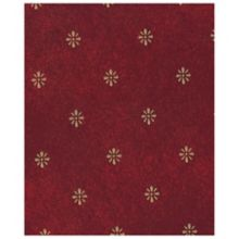 "Marko 57195252SM023 Fashion Series 52"" x 52"" Maroon Aster Tablecloth"