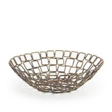 """FOH® BBK011GOI22 Coppered Wireware™ 10"""" Link Basket"""
