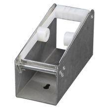 "DayMark 112443 Metal 2"" 1-Slot Label Dispenser"