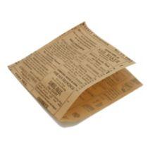 American Metalcraft PPRN76 Newspaper Print Fry / Basket Paper - 250 / PK