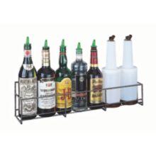San Jamar® B5624SG Heavy-Gauge 6-Bottle Wire Speed Rail