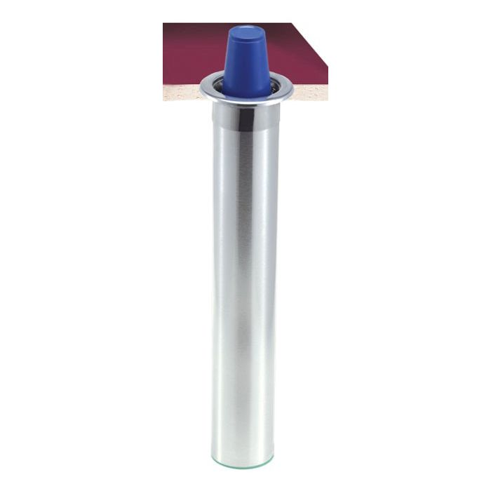 San Jamar® C6200C Stainless Counter-Mount 6-10 Ounce Cup Dispenser
