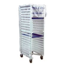 New Age Industrial 1359 HD Clear Vinyl Rack Cover with Two Zippers