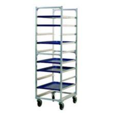 New Age 1334 Aluminum End Loading 10 Pan Capacity Bun Pan Rack
