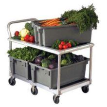 New Age Industrial 1410 Aluminum 1000 Lb. Capacity Wet Produce Cart