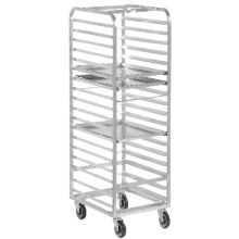 Channel Mfg. 401A Aluminum Front Loading 20-Bun Pan Rack
