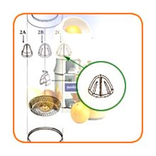 Sunkist 02CR Grapefruit Juicer Extracting Bulb Without Metal Insert