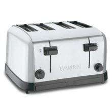 Waring® Commercial WCT708 120V Medium-Duty 4-Slot Toaster