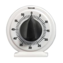 Taylor® Precision Products 5831N White Mechanical 60 Minute Timer