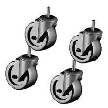 True® 830277 Set of 4 Casters For 1 & 2 Section Units