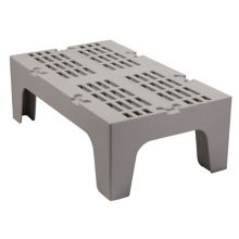 """Cambro DRS360480 Sp. Gray 21"""" x 36"""" x 12""""Slotted Top Dunnage Rack"""