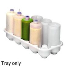 Prince Castle 155 Bottle Storage Tray for Sauce Dispenser Bottles