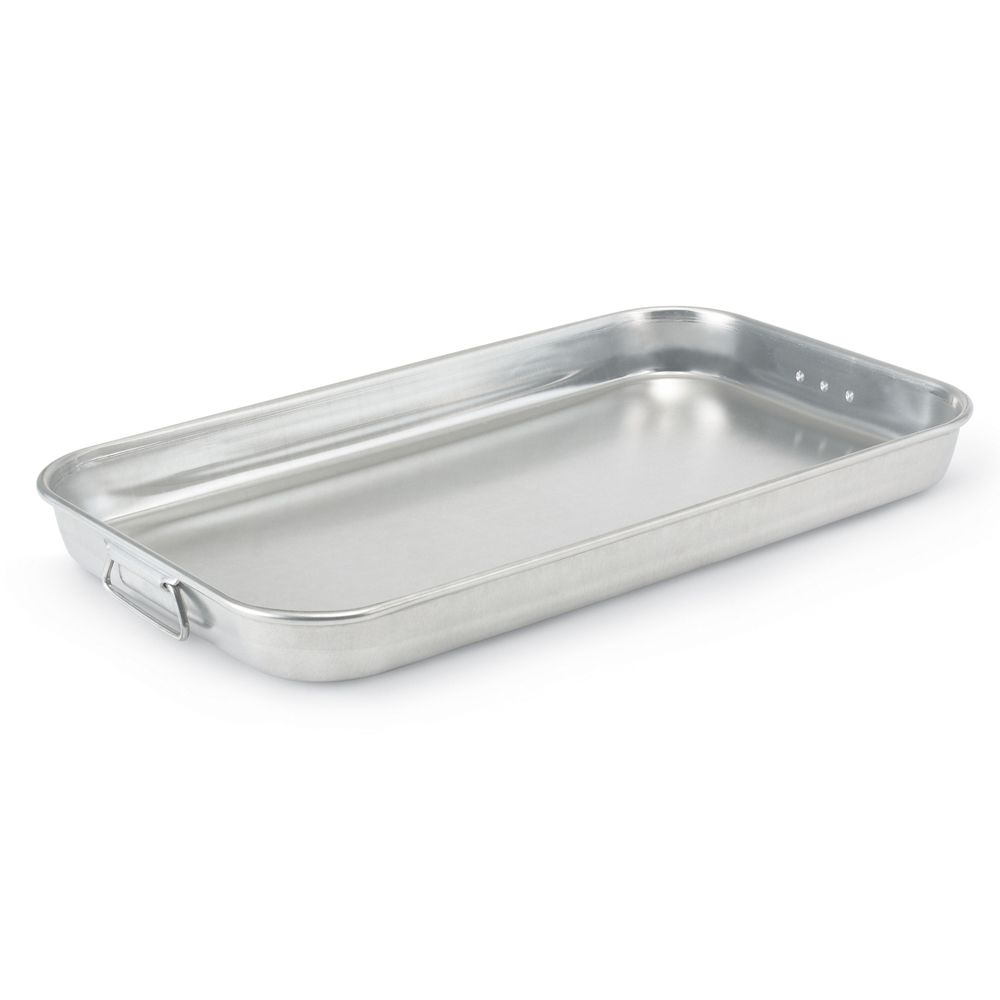 Vollrath 68253 Wear-Ever HD 8.94 Quart Aluminum Baking / Roasting Pan