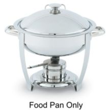 Vollrath 46506 Replacement S/S Food Pan For 46502 Orion Round Chafer