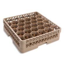Traex® TR12H Beige 30 Compartment Glass with 1 Hexagon Extender