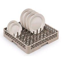"Traex TR3 Rack-Master Beige 19.75"" Square Plate Rack"