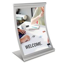 VGS CC-CTC-SL-TS Concurva 8.5 x 11 Counter Top Sign Holder for Insert