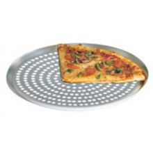 "American Metalcraft CAR14SP Super Perforated Nested 14"" Pizza Pan"