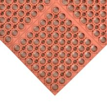 """NoTrax® 065-339 Red Hercules® 39 x 58-1/2"""" Floor Mat"""