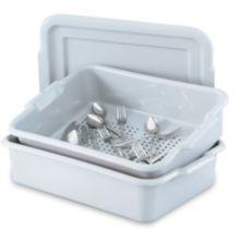 Vollrath® 52619 Gray Silverware Soak System