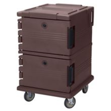 Cambro UPC1200131 Camcart® Dark Brown 90 Qt. Food Pan Carrier