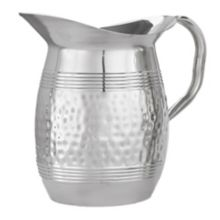 American Metalcraft HMWP85 S/S Hammered Tall 68 oz Bell Water Pitcher