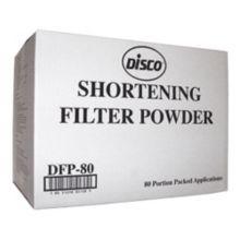 Disco® DFP-80 Filter Aid 80-Pack Filter Powder - 80 / CS